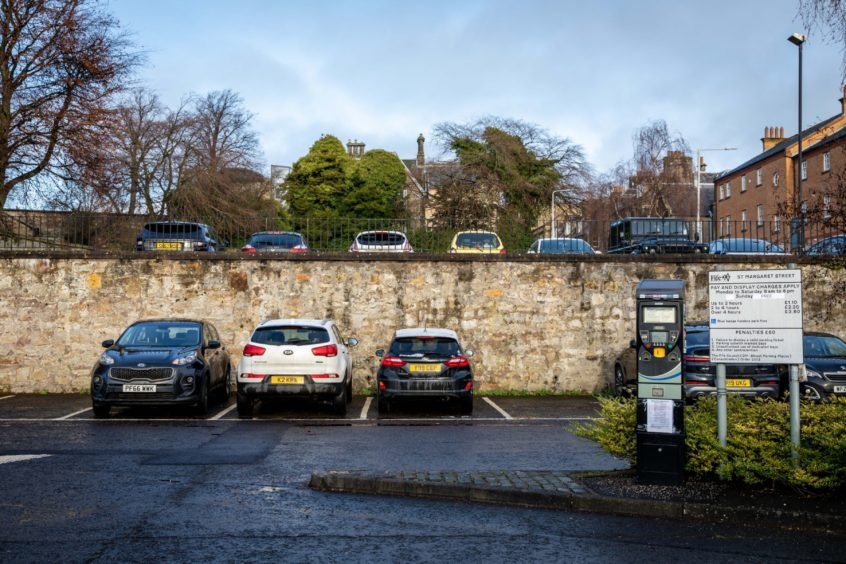 Parking charges return Fife