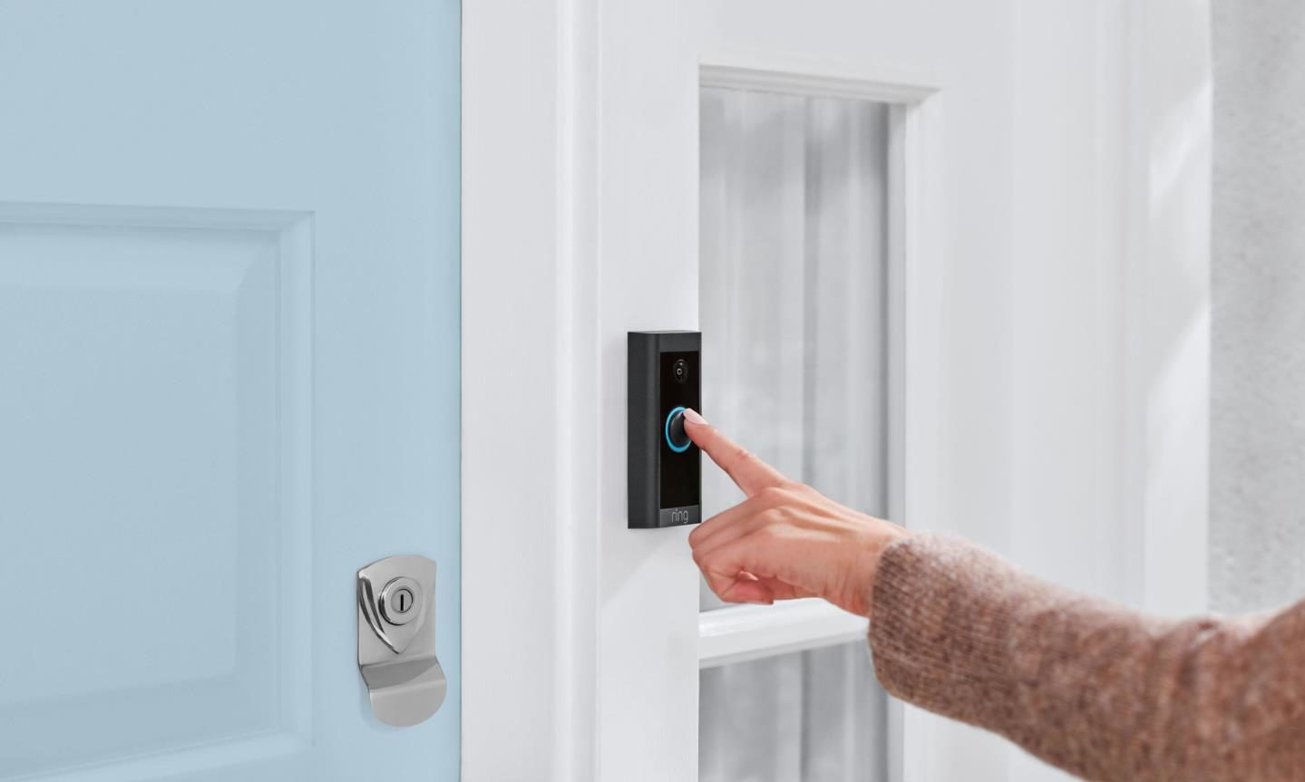 Privacy concerns have been raised regarding video doorbells, such as those produced by Ring, in city council flats.