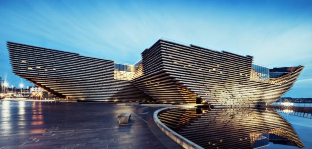 The V&A Dundee pictured in December 2017.