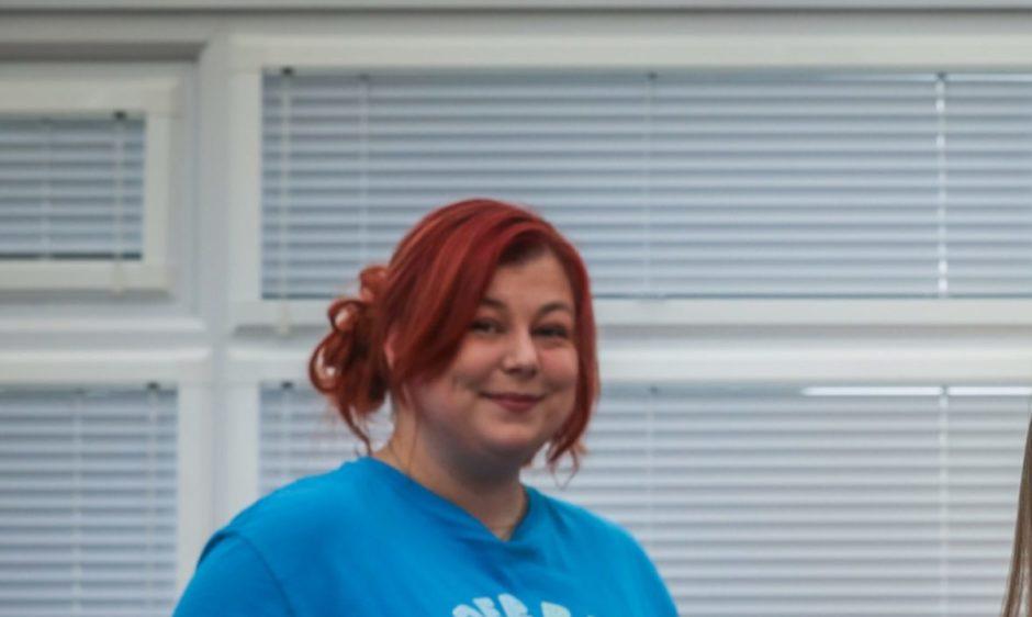 Genna Miller, co-ordinator at Dundee Bairns
