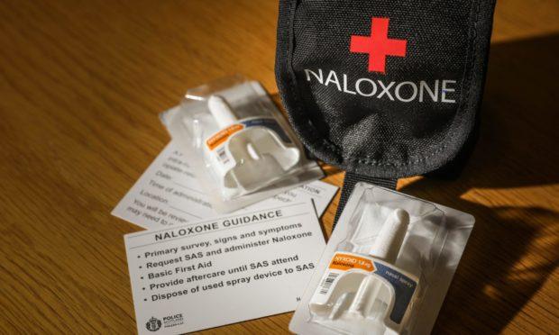 Dundee police Naloxone trial