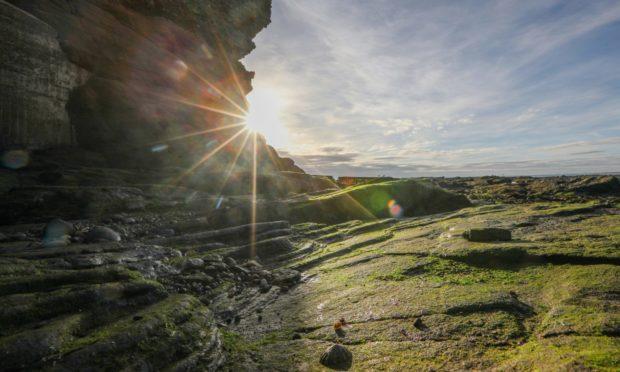 Arbroath Cliffs.