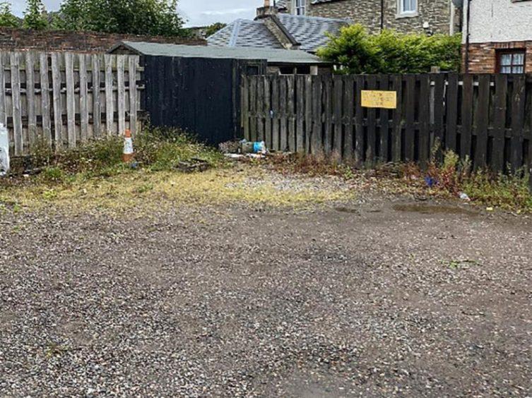 Broughty beer garden rejected