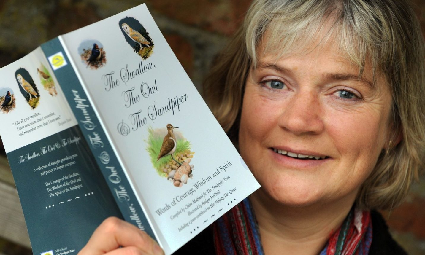 Mrs Maitland published The Swallow, The Owl And The Sandpiper in 2009.