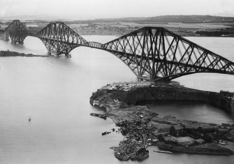 The Forth Bridge was officially opened in March 1890.