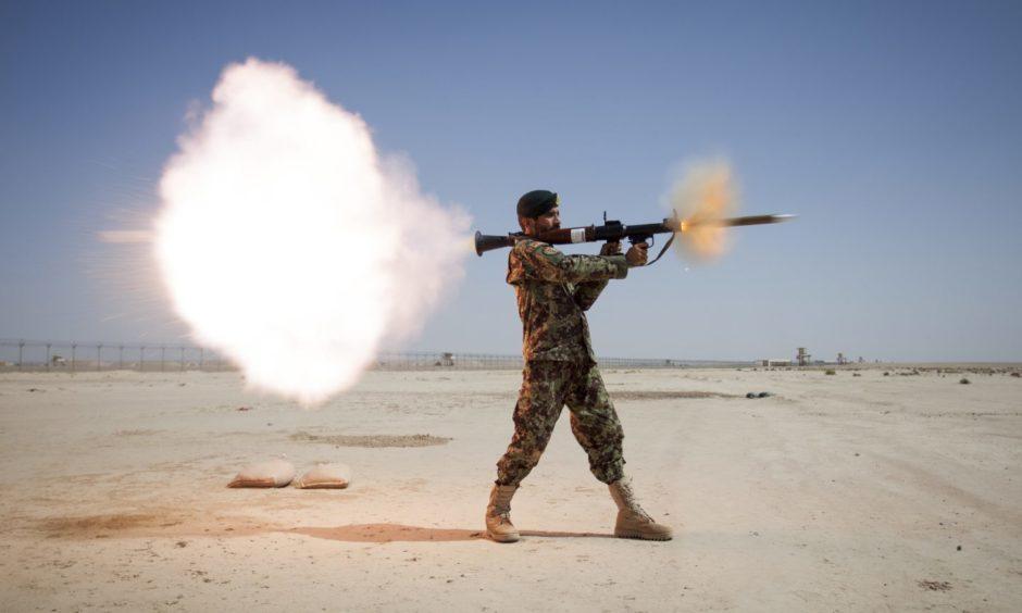 Soldier survived grenade attack