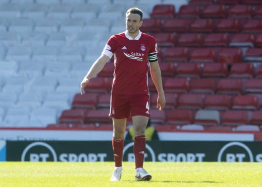 Aberdeen defender Andy Considine, who has been in recent Scotland squads.