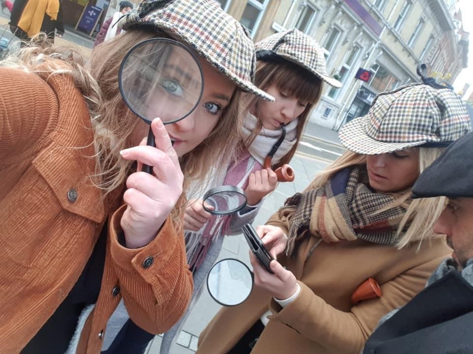 outdoor detective adventure