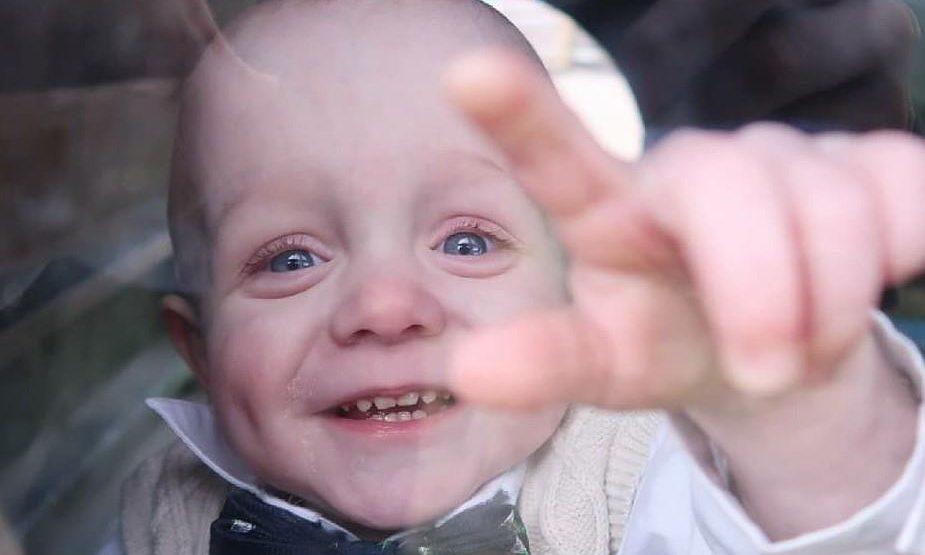 Henry was born three months premature.