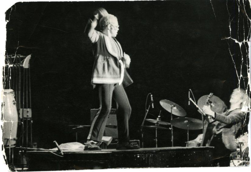 Elton John at the Caird Hall