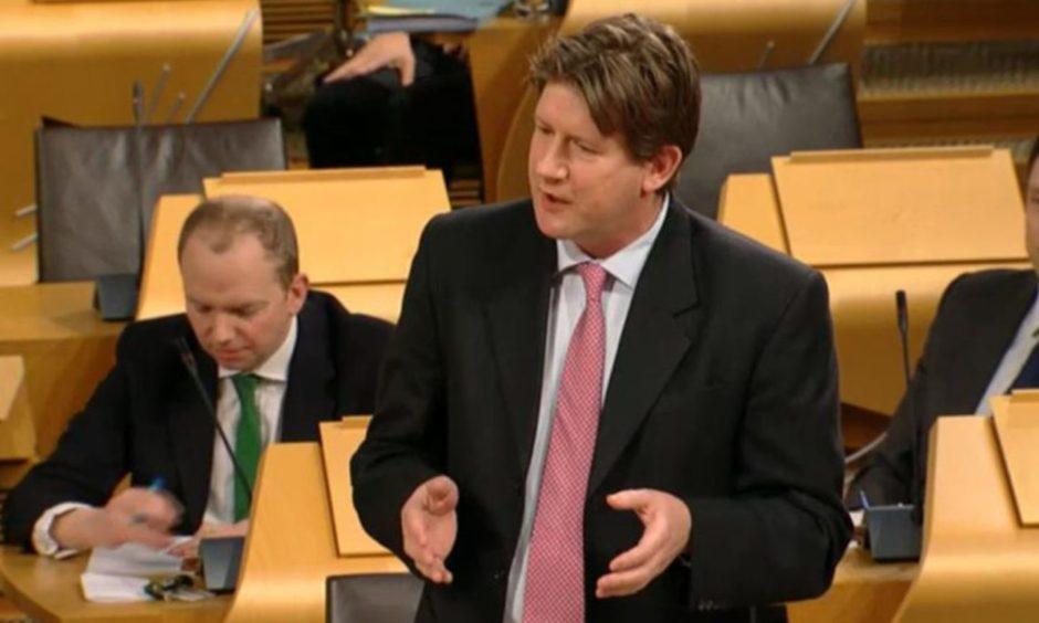 Alexander Burnett lodged a motion in the Scottish Parliament.