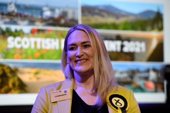 Banffshire and Buchan Coast SNP MSP Karen Adam.