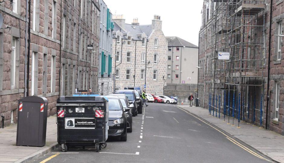 Raeburn Place in Aberdeen