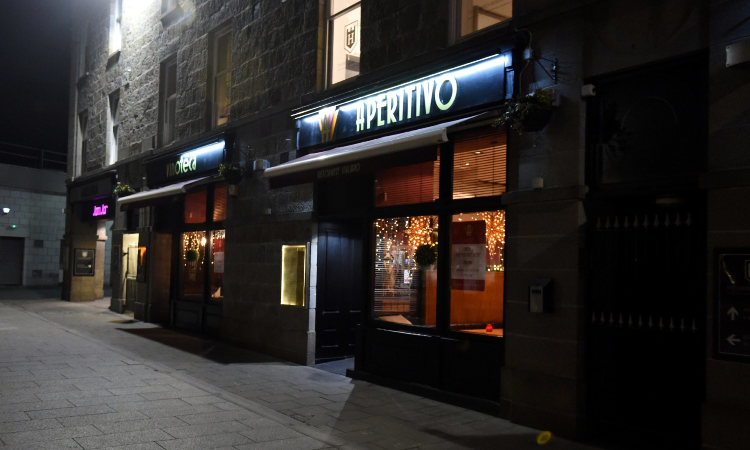 Aperitivo, on Bon Accord Street, Aberdeen, first opened in 2012.