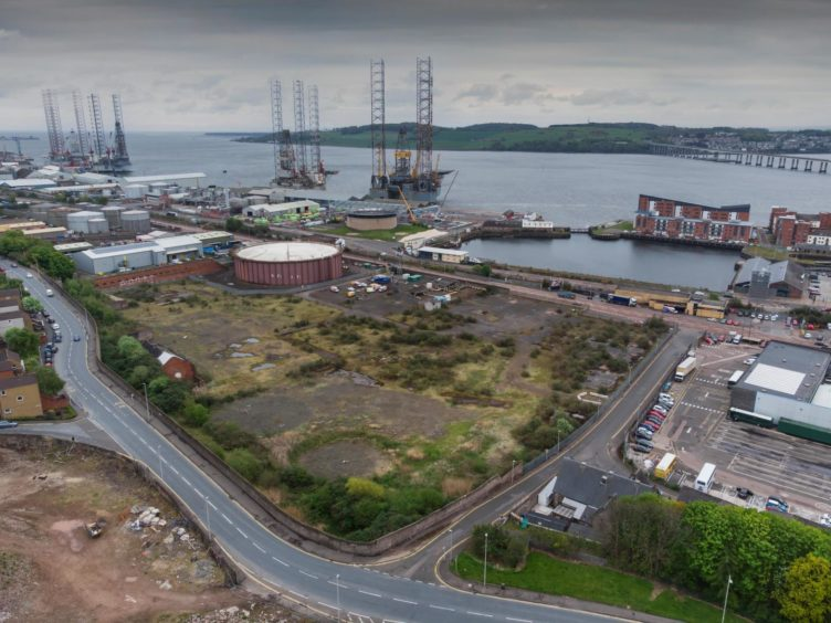 The Old Gasworks in Dundee are going to be the site of the new Eden Project... watch this space.