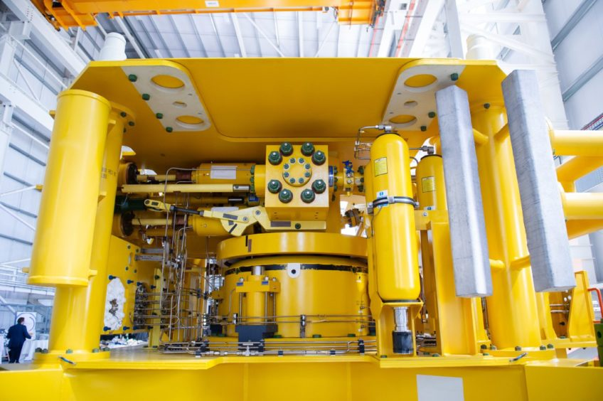 Subsea equipment designed and manufactured at Baker Hughes Montrose.