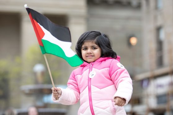 Dundee Palestine Protest