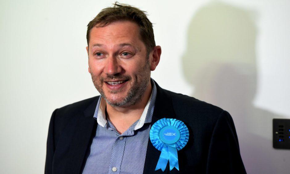 New MSP Douglas Lumsden