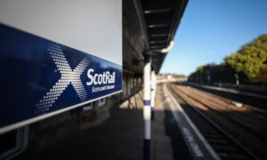 ScotRail sign