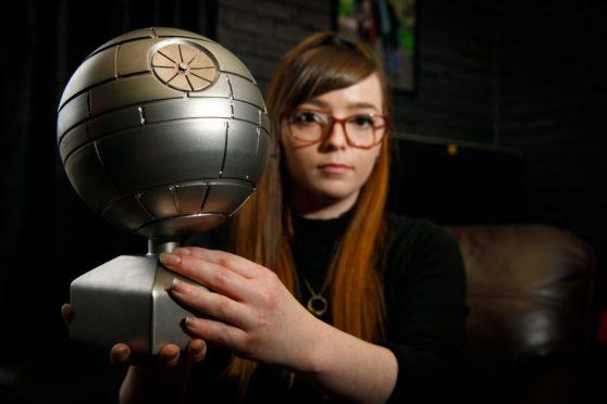 Death Star urn
