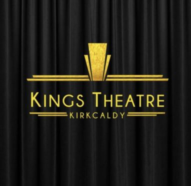 A logo of Kings Theatre