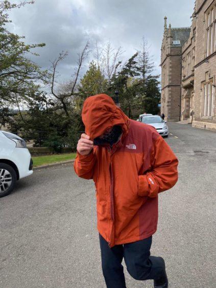 Angus footsteps snow paedophile