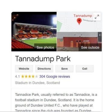 Tannadice Park