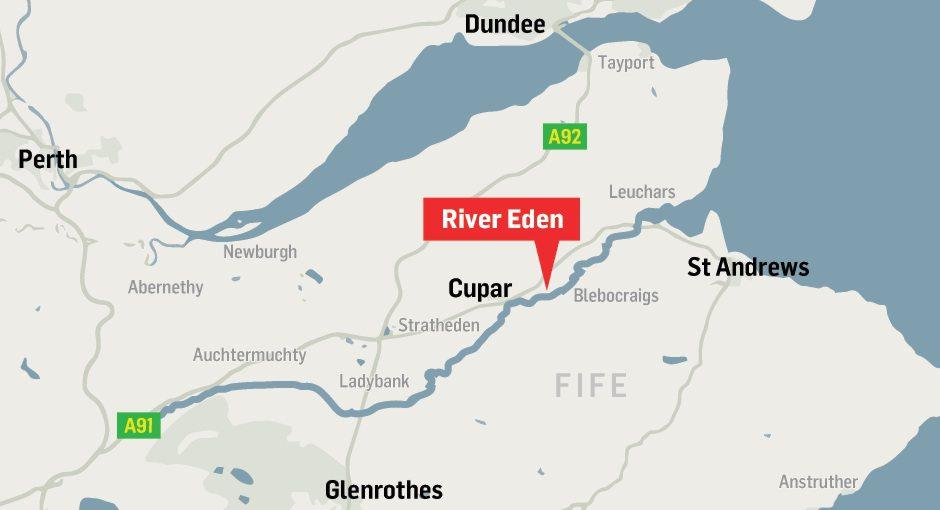 Scottish Water Eden fish