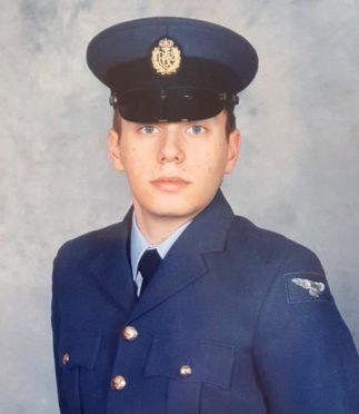 Lee Goodwin in uniform