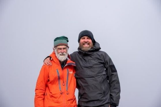 Nick Gardener and Ross Hyslop are heading up a team of 20 climbers this weekend to do the Three Peak Challenge.
