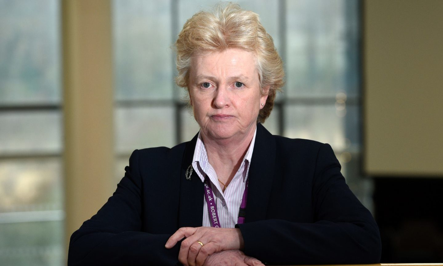 RGU deputy principal Professor Elizabeth Hancock.