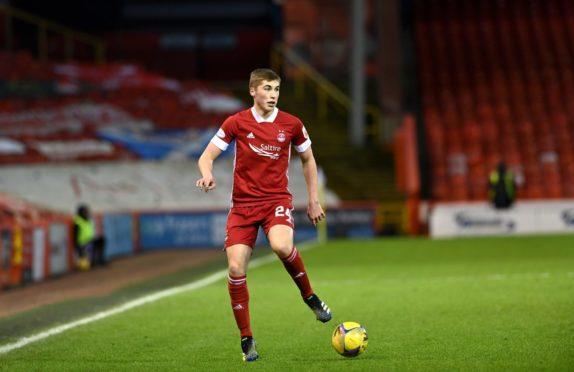Aberdeen midfielder Dean Campbell.