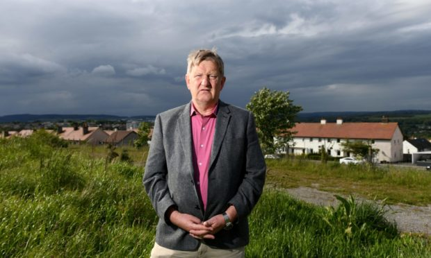 Councillor Alex Nicoll, the SNP group leader, said the public would be 'astounded' by the shortfall, measured against the 2,000 council house promise.