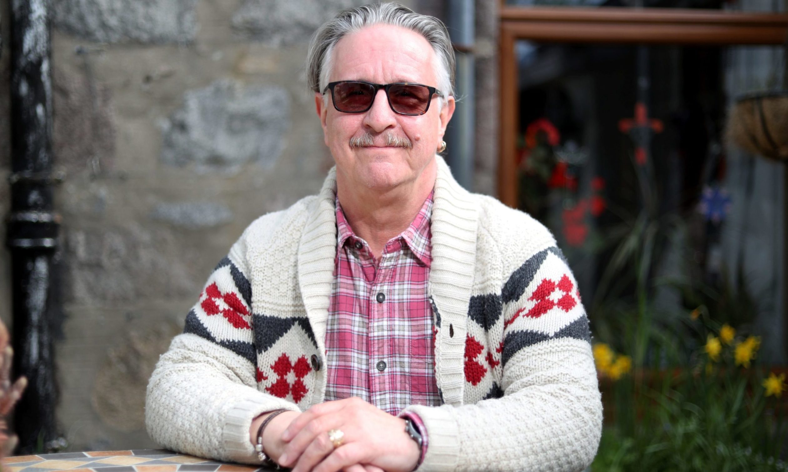 Dermot is working to reduce the stigma surrounding drugs and alcohol problems.