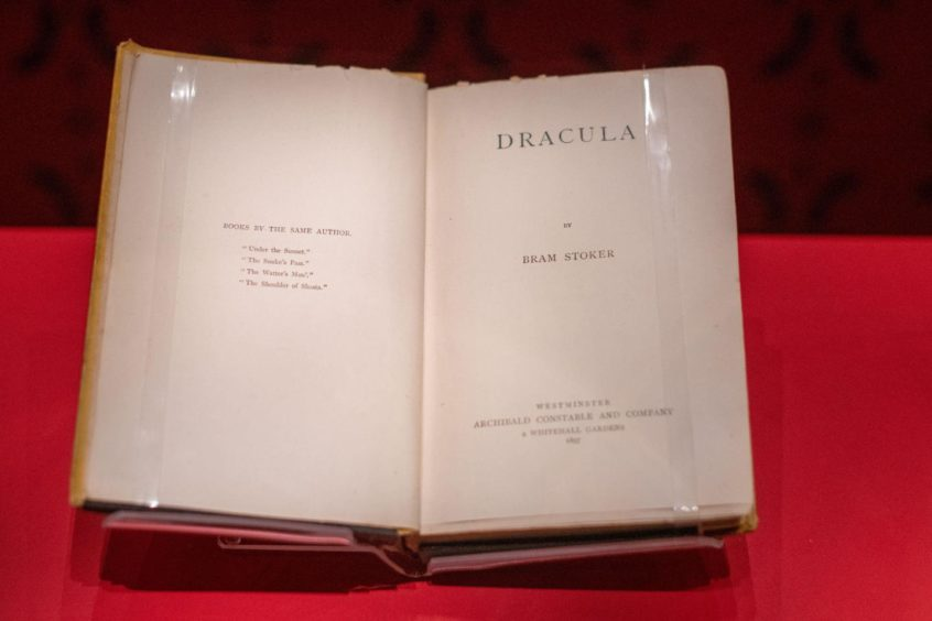 """""""Dracula"""" has become of the world's most famous Gothic novels."""