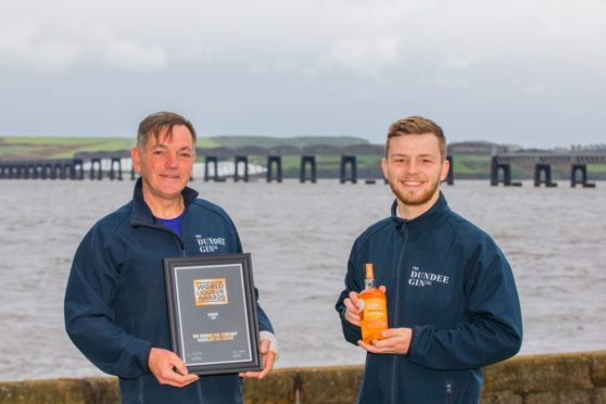 Gordon Philip and Lewis Murphy of Dundee Gin Company
