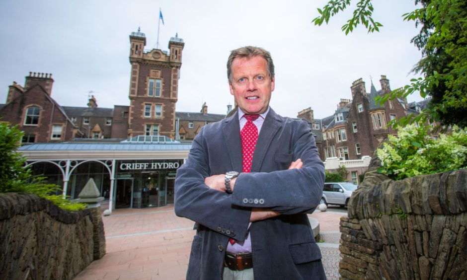 Stephen Leckie, chief executive of Crieff Hydro.