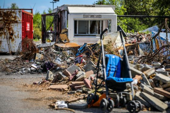 Fife recycling centres