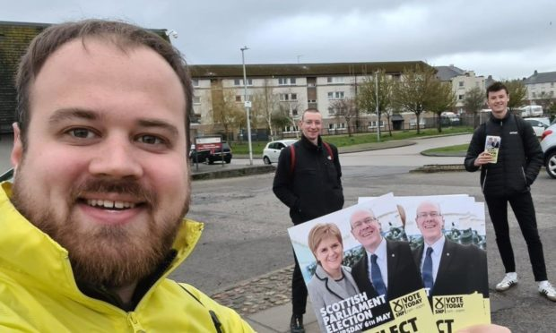 Councillor Alex McLellan had been leafleting in Tillydrone, Aberdeen for about 45 minutes before he was attacked by a dog