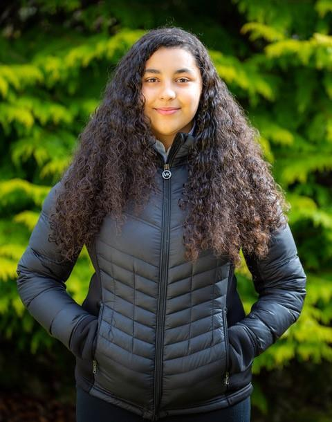 Cults Academy student Youssra Bennadji is hoping to become a vet,