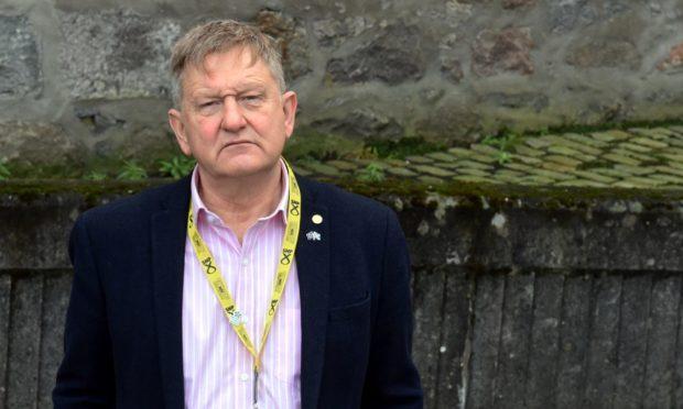 Councillor Alex Nicoll, leader of the SNP group on Aberdeen City Council.