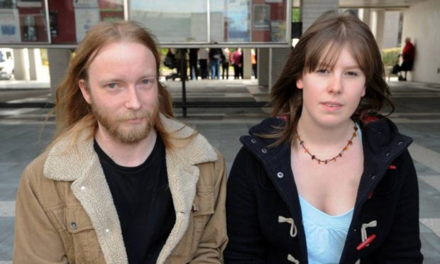 Fraser Denholm and Katie Guthrie secured 10,000 signatures on a petition to save Union Terrace Gardens.