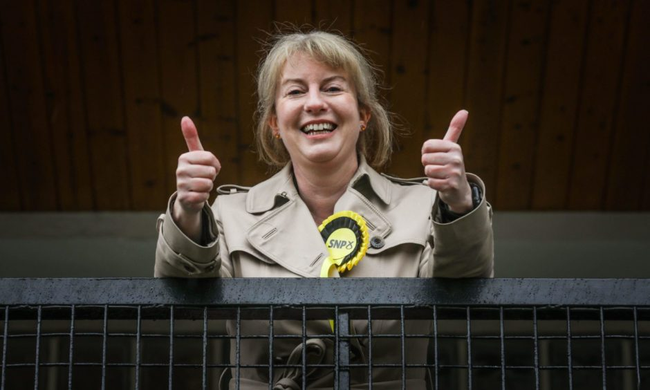 Voters backed Shona Robison for a fifth time.