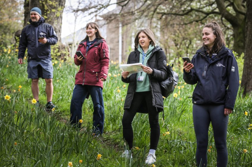 Jillian Walker of Active Schools Dundee and colleagues have mapped out orienteering sites in Dundee. They are trying to turn Dundee into a orienteering hotspot.