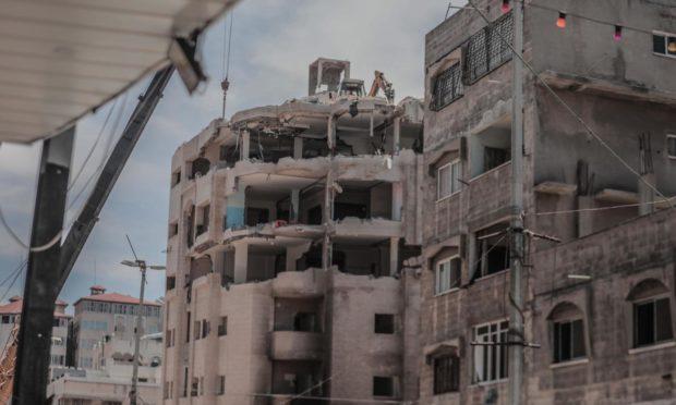 Arbroath Gaza bookshop