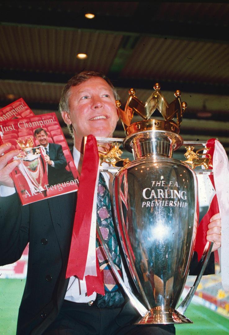 Alex Ferguson has won enough silverware for his own trophy cabinet.