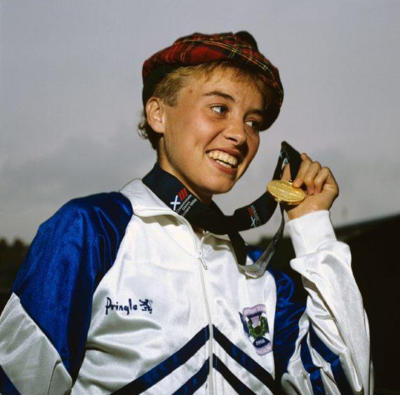 Liz McColgan was Liz Lynch when she won a gold medal for Scotland in Edinburgh in 1986.