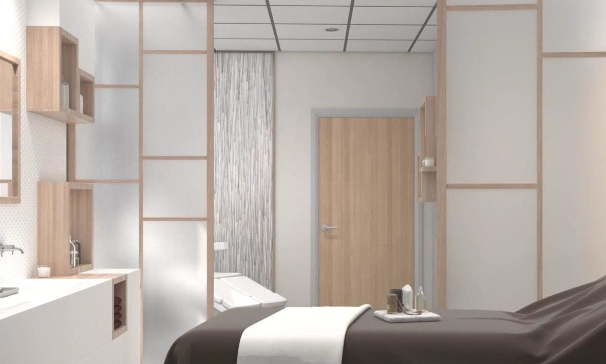 An artist's impression of one of the complementary therapy rooms in the Baird Family Hospital and Anchor Centre.