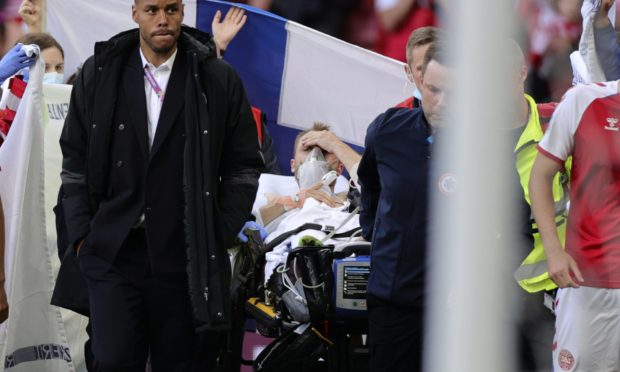 Denmark's Christian Eriksen collapsed in cardiac arrest during the Euro 2020 championship group B match between Denmark and Finland at Parken stadium in Copenhagen.