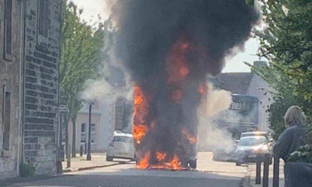 Culross Bus Fire